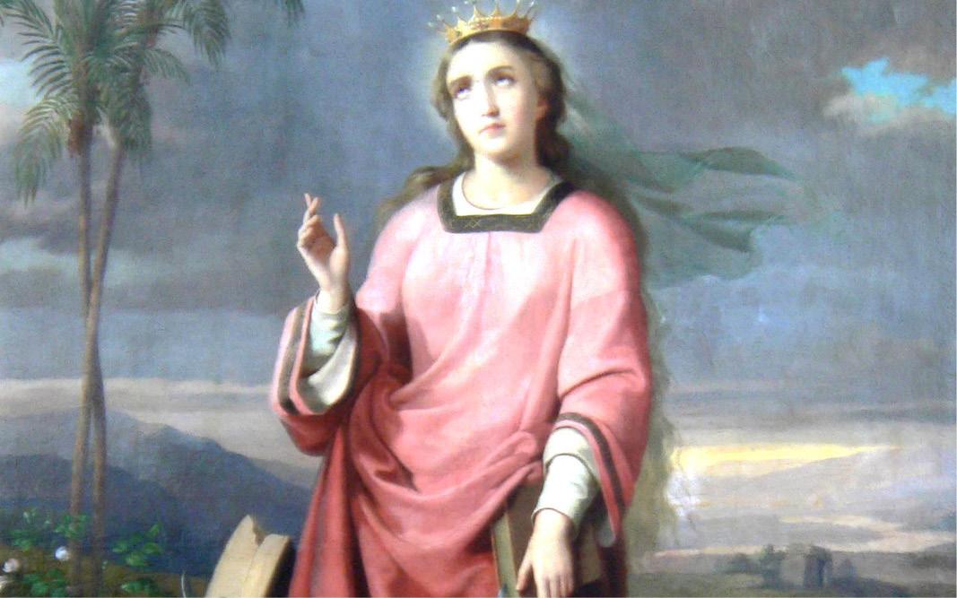 Szent Katalin-búcsú Láziban